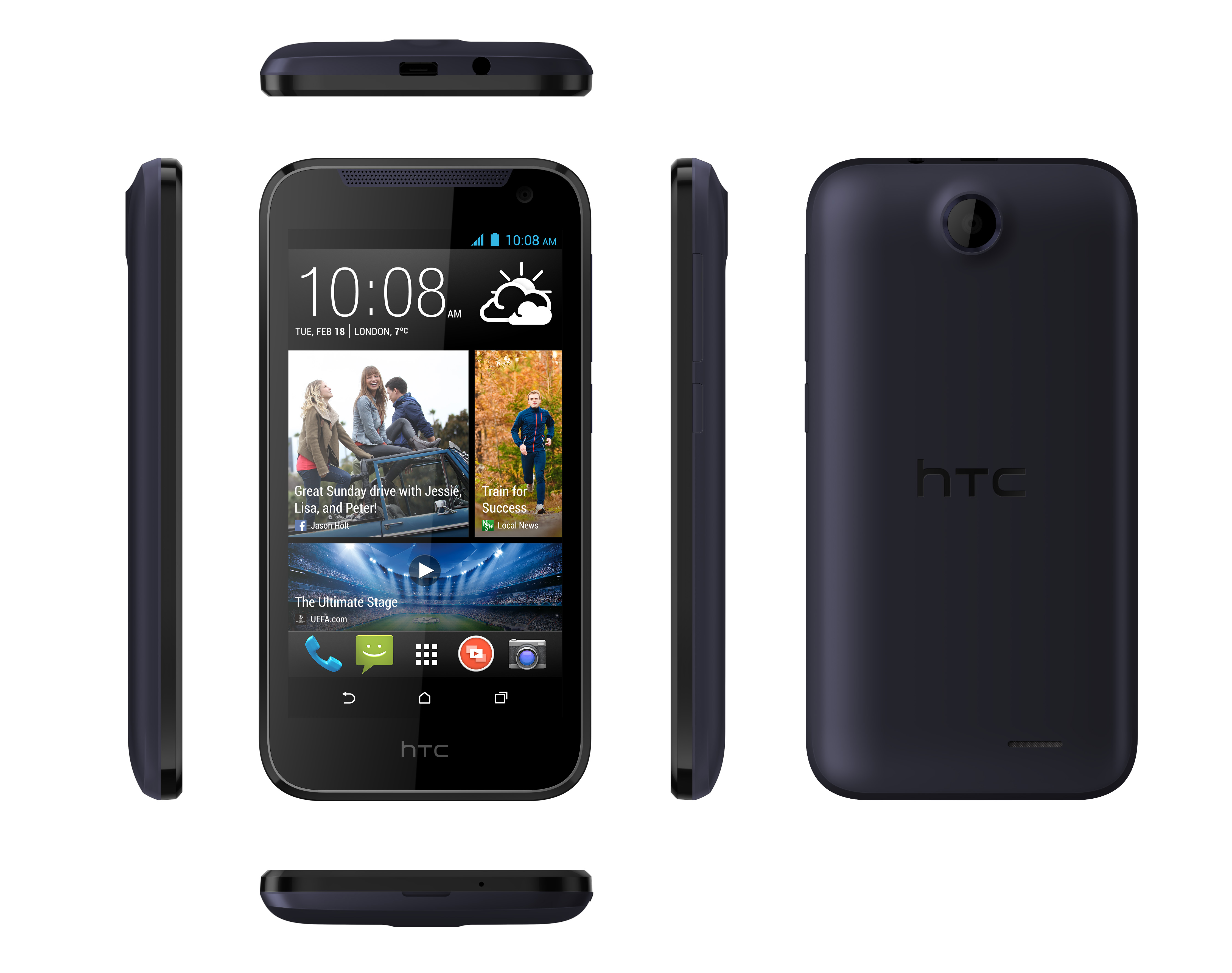 HTC unveils the Desire 310 UK released in April ...