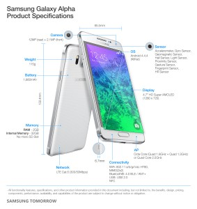 Galaxy-Alpha-Product-Specifications