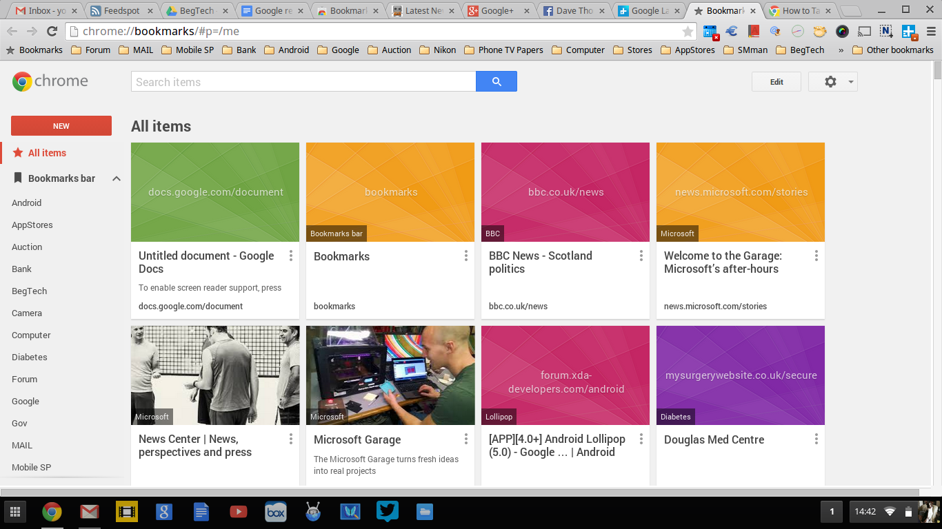 how to create a new bookmark in google chrome
