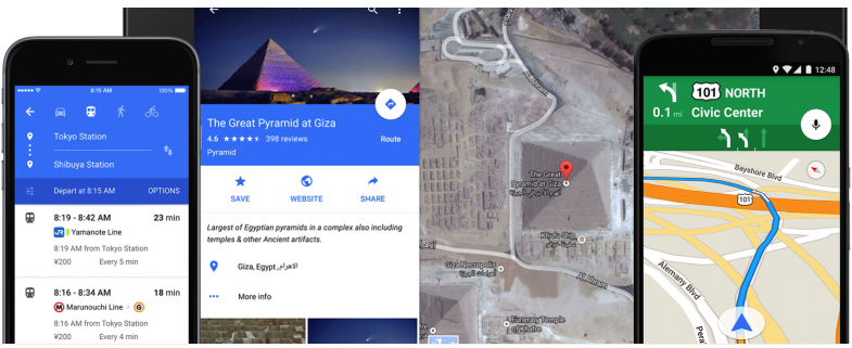 Google Maps Gets a Fresh New Material Design on Mobile