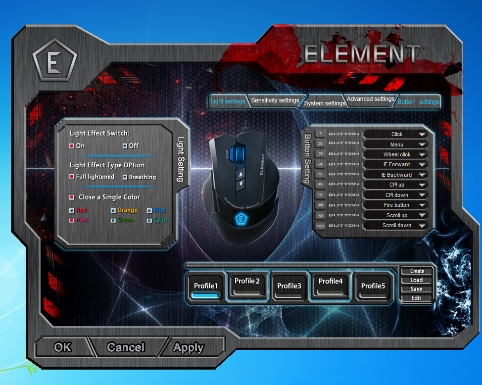 element screen