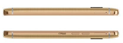HTC-One-M9-Gold-side-on