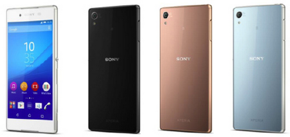Xperia Z4 colours