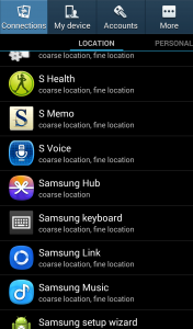 Choose which apps get access to your location