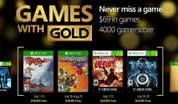 Games for Gold July 2016